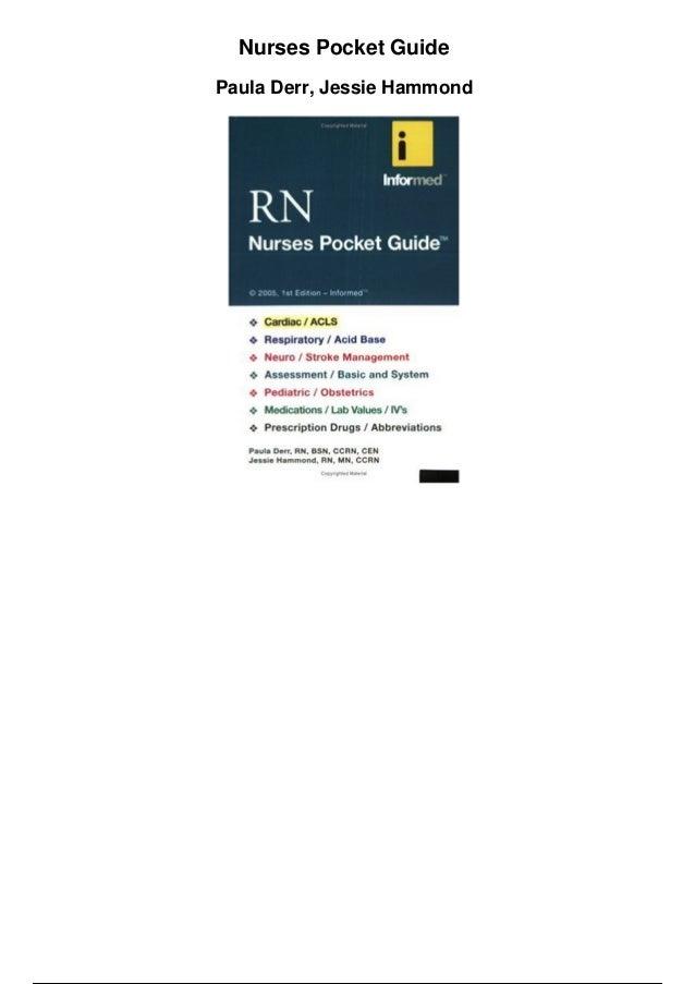 Pdf guide nurses pocket