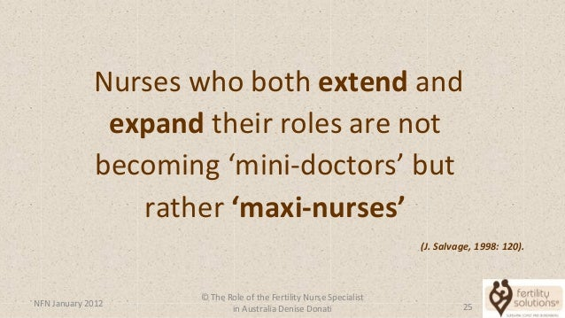 how to become a fertility nurse