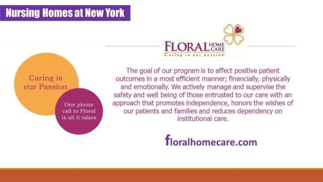 Home Care Manhattan | Nurshing Homes In NYC : Floralhomecare.com Slide 2