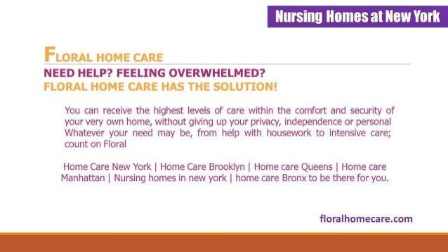 Home Care Manhattan | Nurshing Homes In NYC : Floralhomecare.com Slide 3