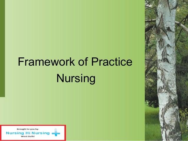 Framework of Practice Nursing