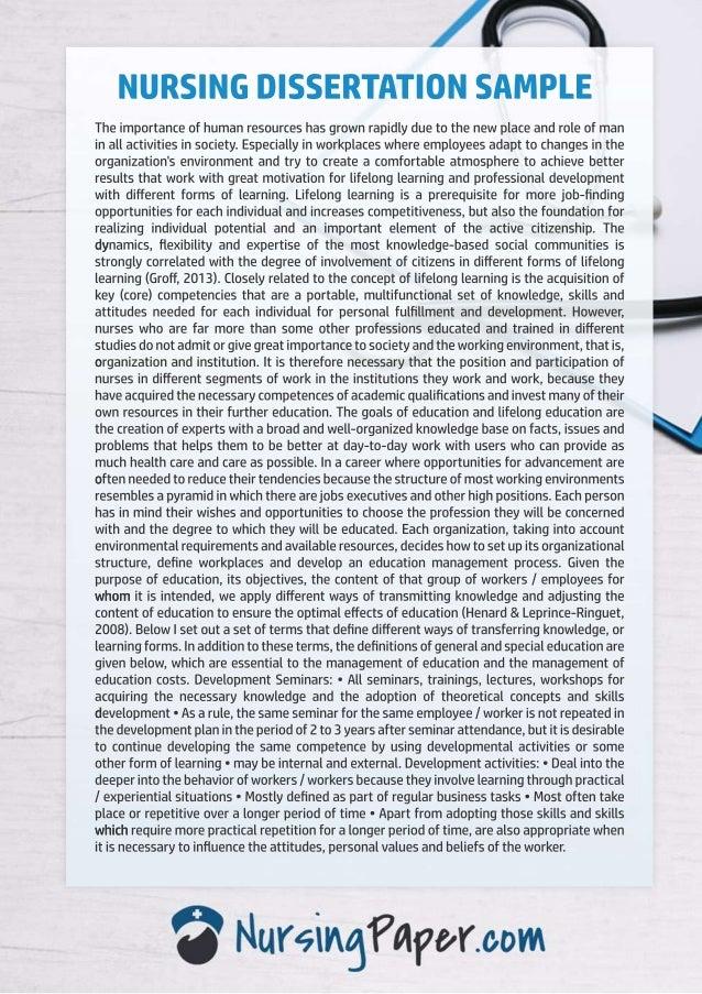 Dissertation in nursing essay of argumentation