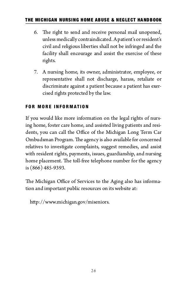 The michigan nursing home abuse neglect handbook 31 26 solutioingenieria Images