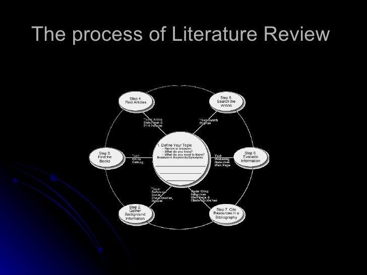 nursing literature review essay