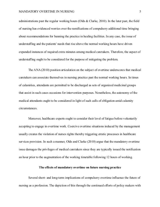 Persuasive Essay Paper Therefore Such Approaches Would Foster An  Mandatory Overtime In Nursing    Mental Health Essay also How To Stay Healthy Essay Nursing Research Paper Example Essay Writing Examples English