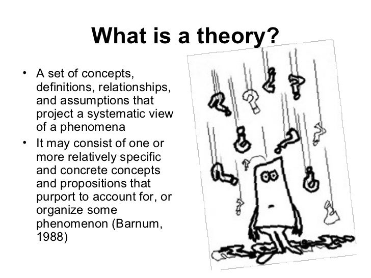 2 What Is A Theory