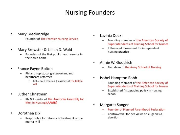 nursing theorists There are different nursing theories and health theories to help us explain the phenomena we are experiencing in health below is a shortlist of different health and nursing theories.