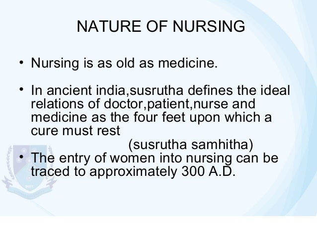 introduction of nursing Learn about the various career trajectories and levels of education needed as a nurse.