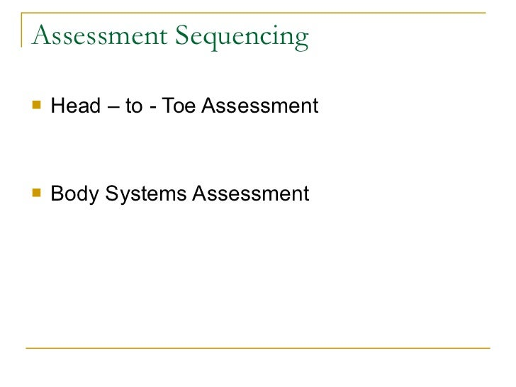 Head-to-Toe Assessment: Complete 12-Step Checklist