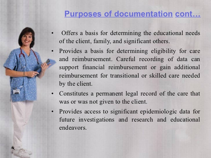Guidelines for documentation  • Document legibly or print neatly in unerasable ink • Use correct grammar and spelling • Av...