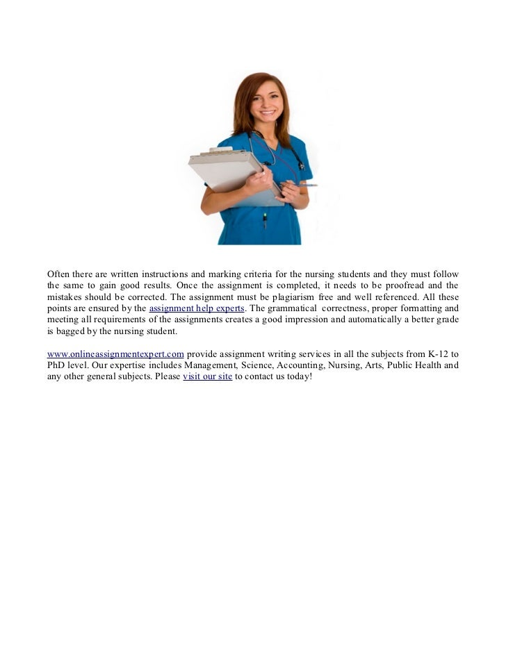 help and if you re looking for nursing assignment help in assignment ...