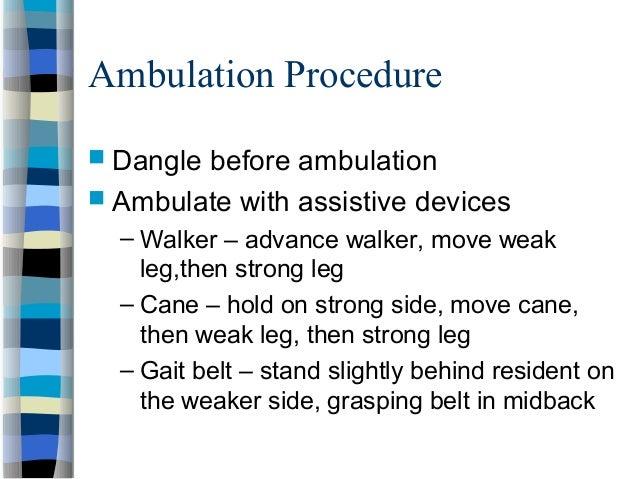 Nursing Assistant Body Mechanics 1
