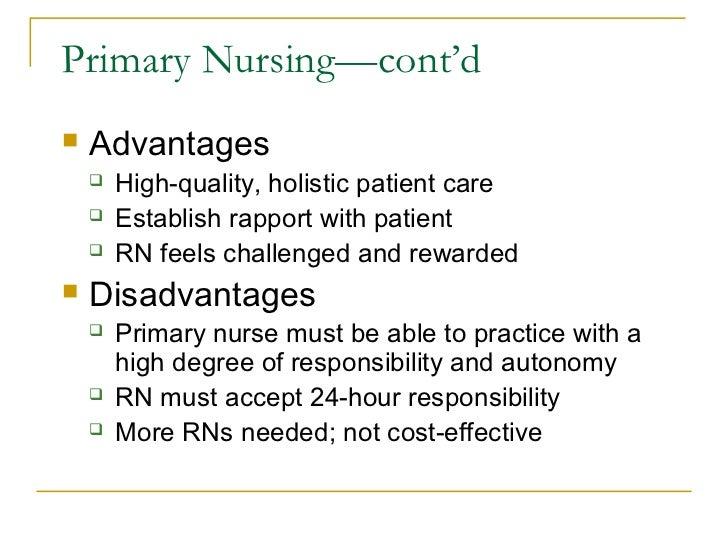 Disadvantages Of Long Term Care In Nursaing