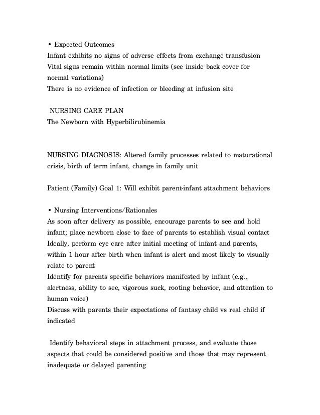 nursing care plan cold stress newborn Chapter 42 / stress and coping 1075 nursing care plan ineffective coping assessment data nursing diagnosis desired outcomes nursing assessment ruby smithson is a 55-year-old mother of four children who is.