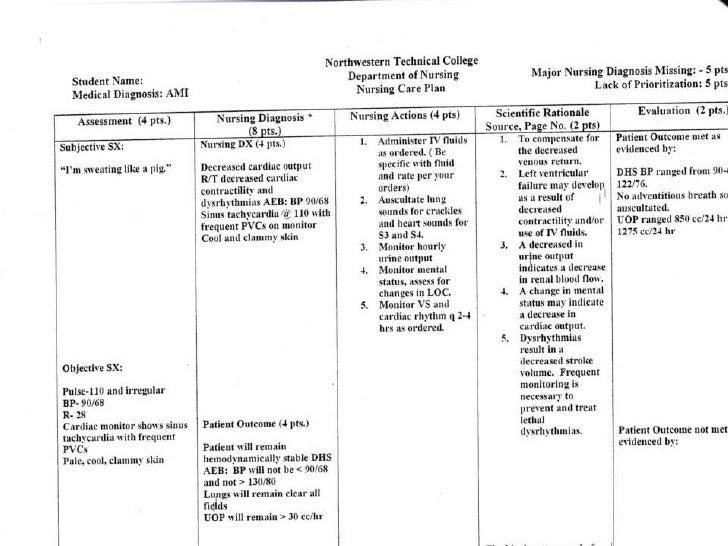 nursing care plan template pdf