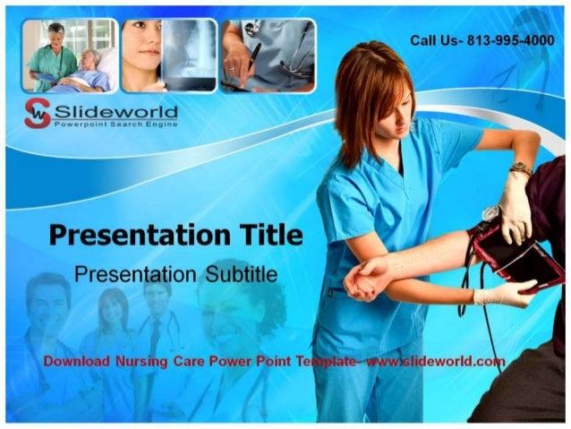 Nursing Care Powerpoint Templates