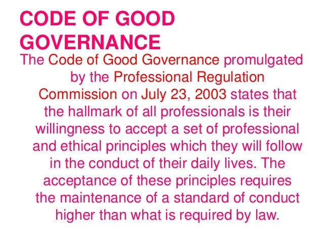 11 code of conduct a set 11 offers of future employment 11 former public officer acting in a  (ii) the  general code of conduct and ethics set out in part ii of the act is set out in.