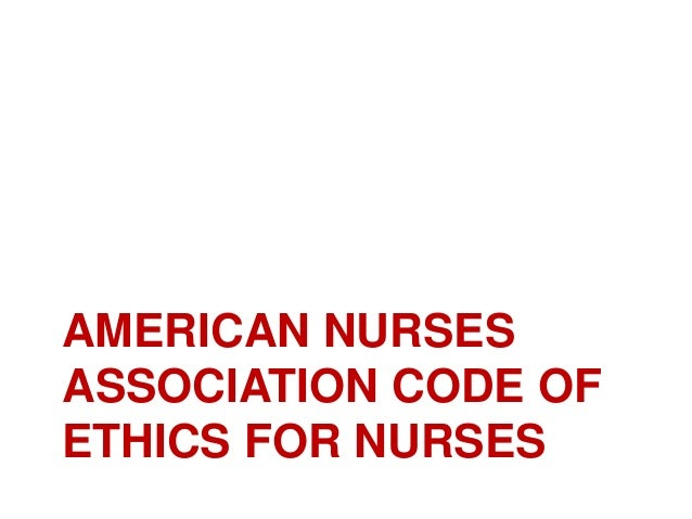 ethical research guidelines for registered nurses
