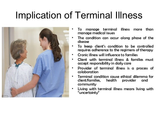 Nursing concept terminal care
