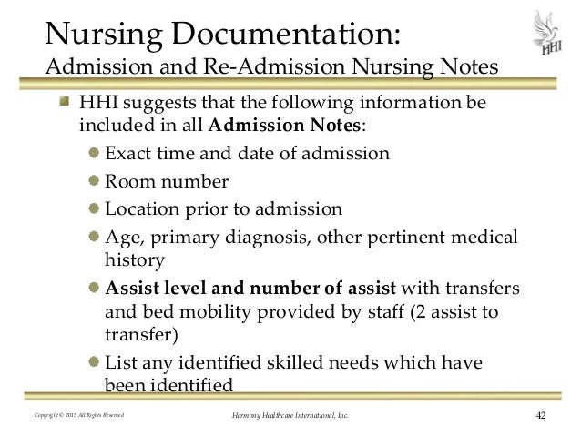 How To Write Skilled Nursing Notes