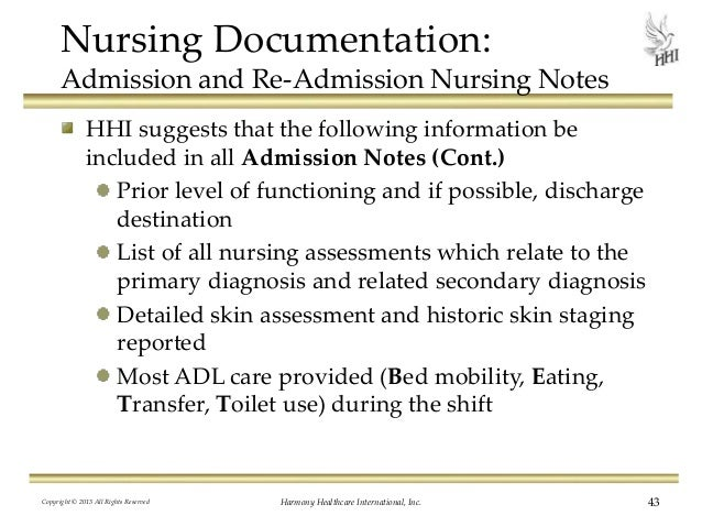 Nursing Documentation: Do Your Medical Records Support Skilled Care?