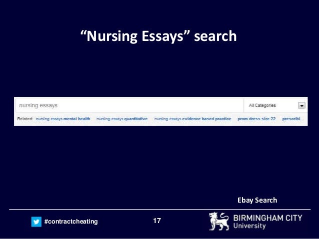 "examining the ease of buying nursing essays online through essay mill  17 contractcheating ""nursing essays"" search search"