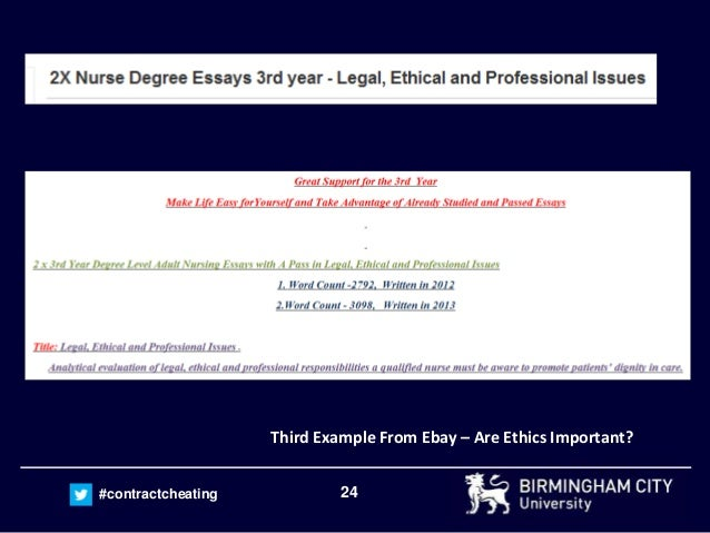Is buying essays online legal