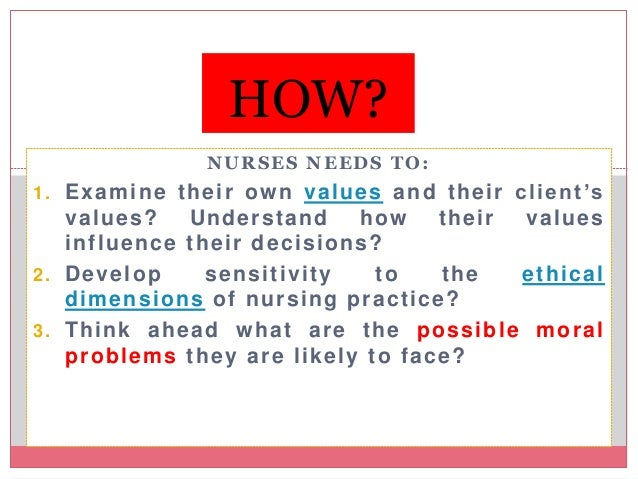 an analysis of the ethical issues faced in practice of nursing Nursing students experience ethical problems in clinical practice in in a different way from registered nurses in order to develop ethical reasoning and competence in nursing students, nurse educators must recognise the unique issues students face.
