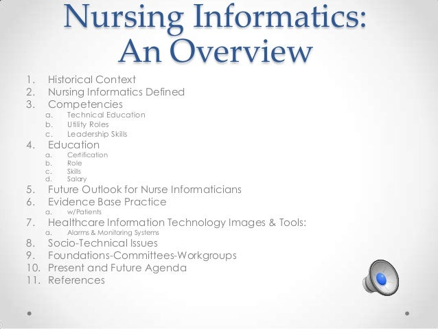 Nursing Informatics - Team 3 Presentation