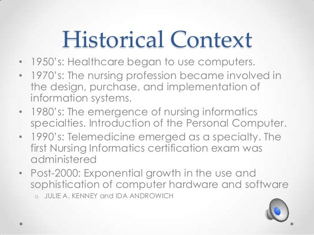 an overview of the nursing profession The development and evolution of the nursing profession the purpose of this chapter is to provide an overview of the history of nursing with an emphasis on.
