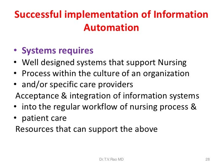 Patient Care Information Systems Successful Design And Implementation