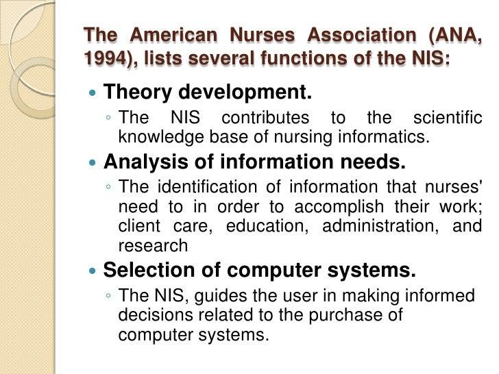 nursing informatics introduction