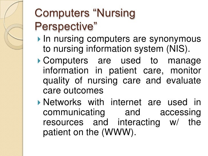 nursing informatics theory essay Read this essay on nursing informatics come browse our large digital warehouse of free sample essays get the knowledge you need in order to pass your classes and more.