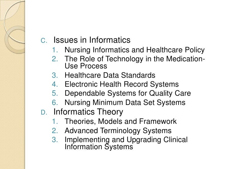 Nursing Informatics Introduction
