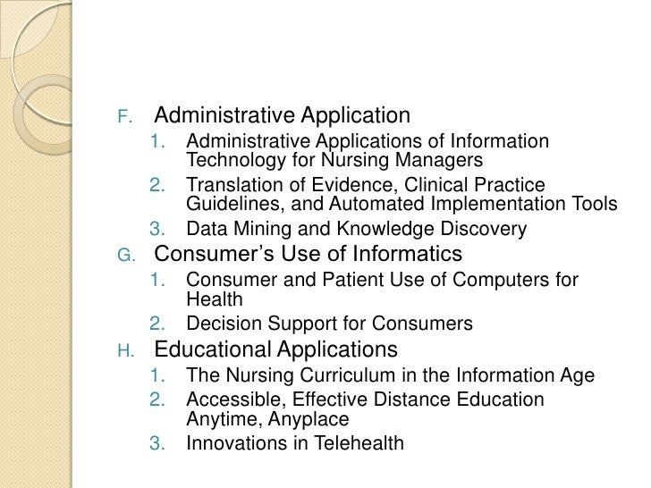 nursing guidelines for consumers role in healthcare