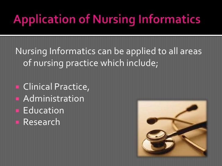 Nursing informatics presentation
