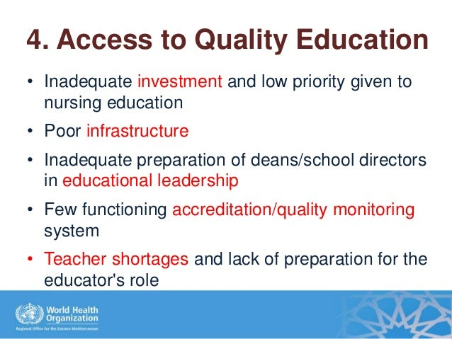 inadequate qualified nurses The impact of limited clinical sites on prelicensure nursing education programs:  qualified nursing faculty  students is inadequate.