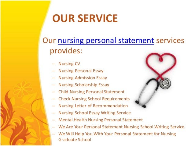 Mental health nursing personal statement