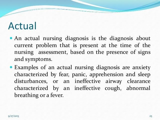 problem solving nursing diagnosis
