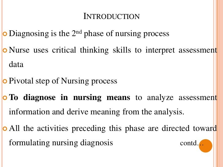 what is meant by critical thinking in nursing Facione (1990) defines critical thinking as a purposeful self-regulatory judgment halpern (1989) defines it as a purposeful goal directed thinking critical thinking is an essential component of nursing since a nurse is always, by profession, confronted with complex situations, which demand.