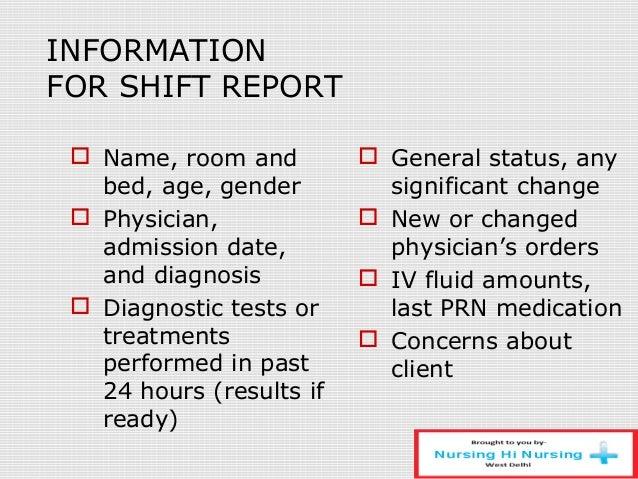 Nursing Process And Documentation