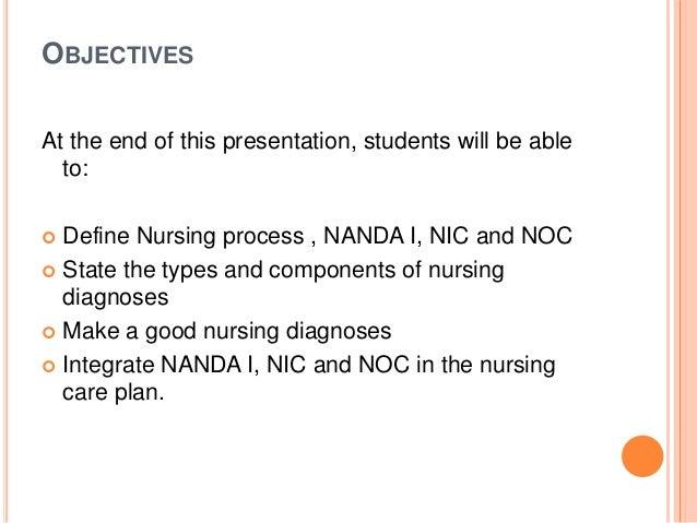 Nanda noc nic nursing language