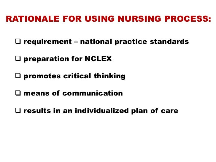 Nursing process review