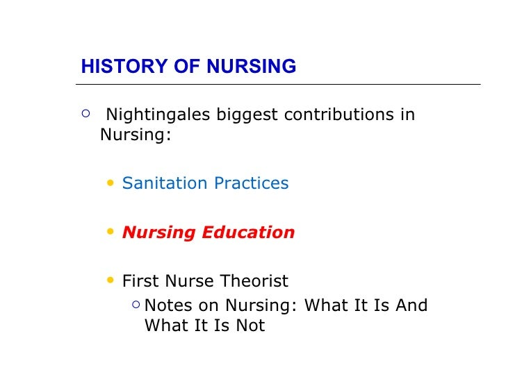 """""""The lady with the lamp"""" and her contributions to modern nursing"""