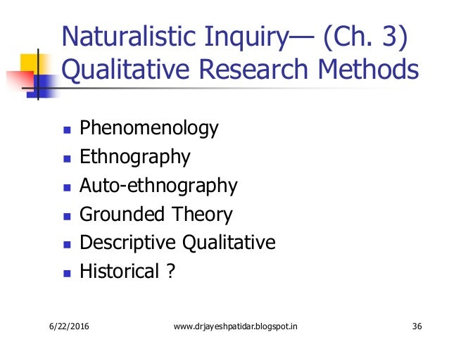 descriptive vividness in qualitative research