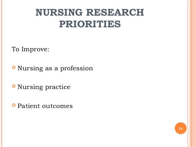 nursing research that improve patient outcome Evidence-based nursing outcome evaluation search  improved patient perception of care,  from the agency for healthcare research and quality.