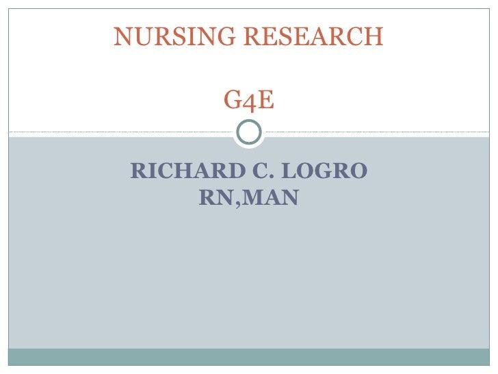 Nursing Research Proposal Topics