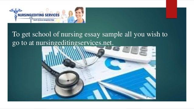 Nursing School Essay Sample Nursing School Essay Sample