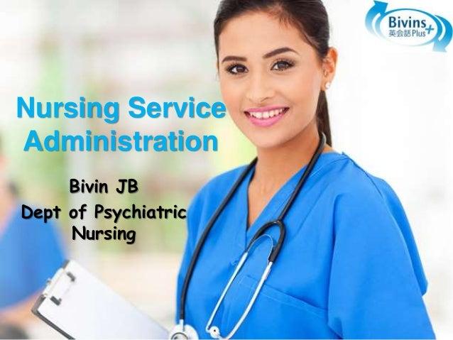 Nursing service administration thesis