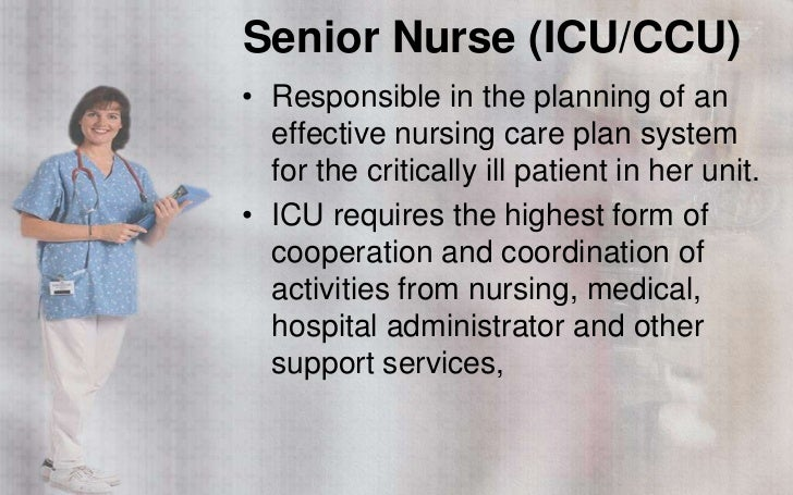 Nursing services duties and functions